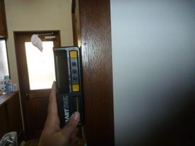 柱傾斜測定